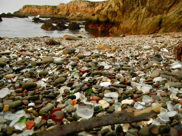 7. Glass Beach