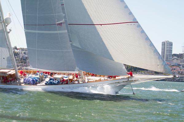 2013 America Cup Super Yacht  Regatta