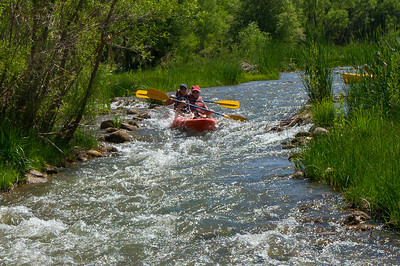5/14/19 - Kayaking the Verde River with Sojourn and the VRI