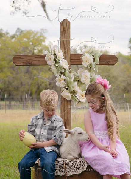 Claire & Stetson~Little Lamb