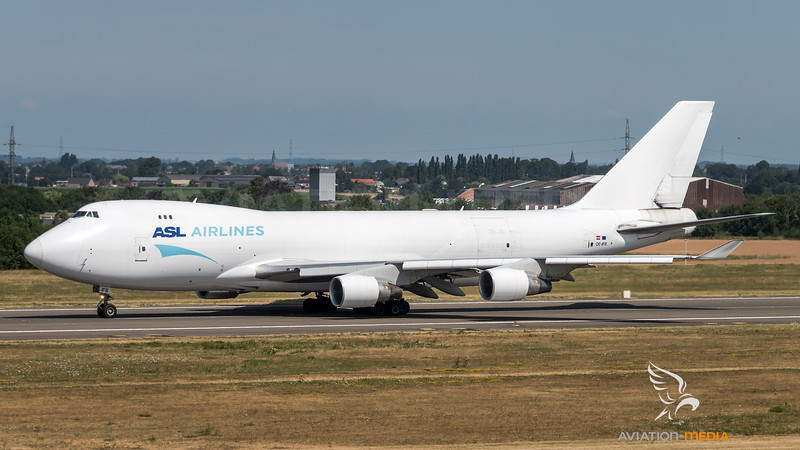 ASL Airlines / Boeing B747-4B5F(ER) / OE-IFB