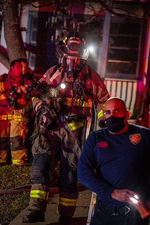 Dwelling Fire w/ Animal Rescues - 400 Parland, San Antonio, TX - 1/3/21