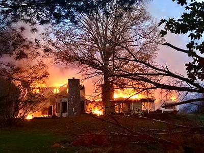 Yorktown Heights Working Fire, Baptist Church Rd