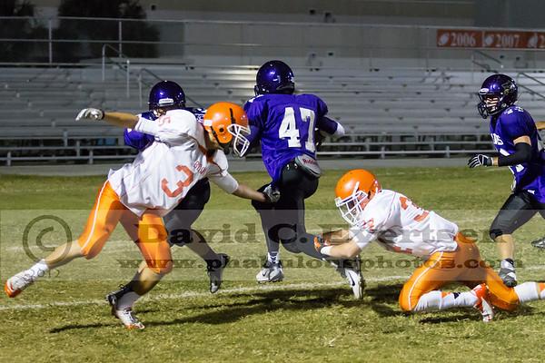 Boone JV Football #35 - 2012