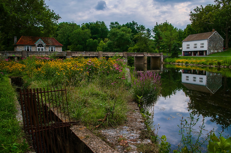 union canal trail - grings mill reflections(p).jpg
