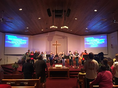 praise and worship at zion . 2.22.17