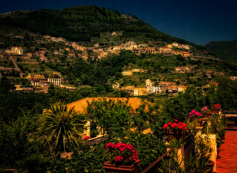 Taken in Ravello Italy on one of our walks..
