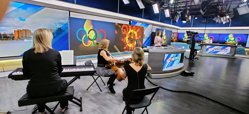 Eroica Trio at CBS Channel 12