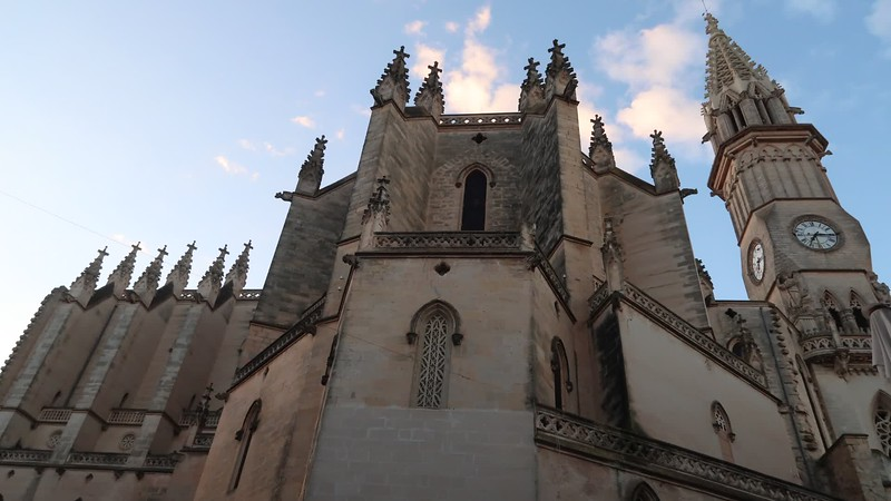 Time Lapse Church Manacor.MP4