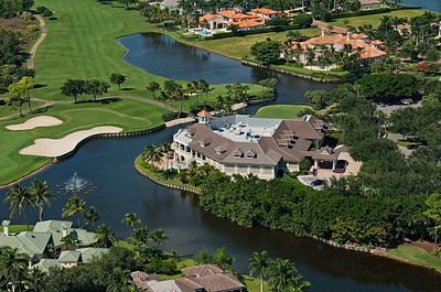 Aerial Golf Course Images-Naples-Florida