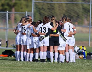 Outlaw Girls Soccer Senior Night vs Junction City 10-16-14