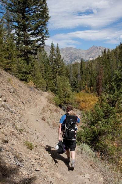 Prairie Creek trail.