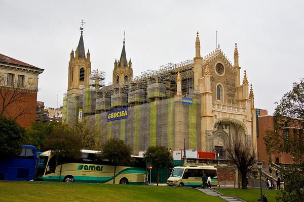 Madrid Spain - December, 2009