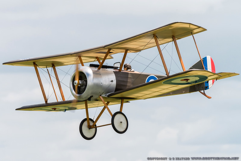 Sopwith Pup at Top Gun 2013