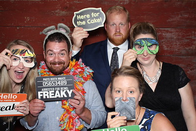 2018-08-04 Birch Hill Barn Wedding Photo Booth in Glenwood City WI