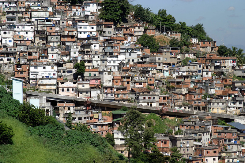Favelas...Corcovado Panorama and getting there. 2004