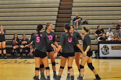 2015 09 29 Varsity Volleyball vs RNE
