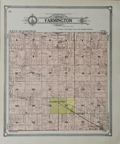 Farmington MI Area Local History