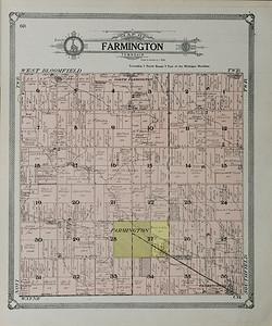 Farmington and Farmington Township Historic Maps
