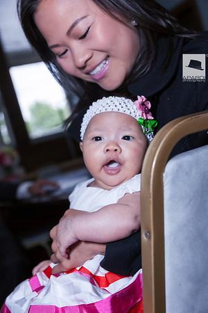 Baby Ngoc Han Baptism