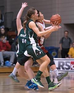 AAAA Championship Game Varsity Girls Basketball Provincials 2016