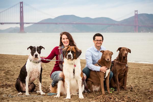 Kimberley San Francisco with Pups