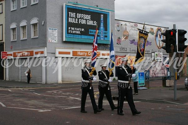 West Belfast Volunteers Parade