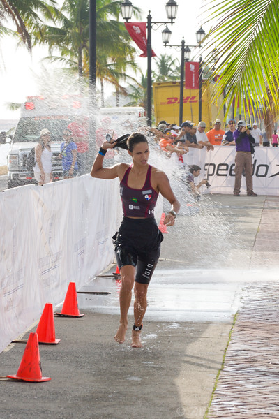 Carolina Dementiev from Panama at Ironman 70.3, Panama 2013