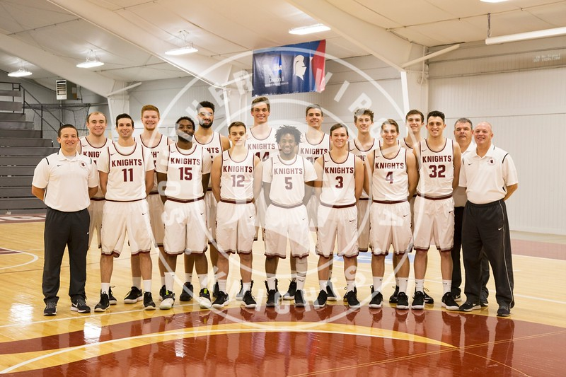 Men's Basketball Team Photo: 2017-2018
