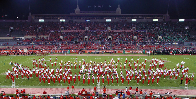 Another UH marching band formation