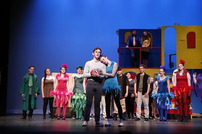 "High School Theatre - 5/1/2018 ""Seussical"" Scene Rehearsals"