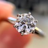 .61ct Old European Cut Diamond Vintage Solitaire, by Tiffany & Co  GIA F VS2 0