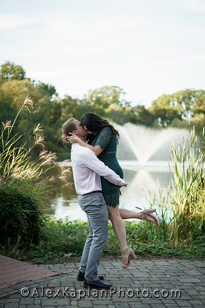 Engagement Session at the Verona Park, Verona New Jersey