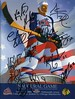 2000-10-07b Blue Jackets Inaugural Game AUTOGRAPHED