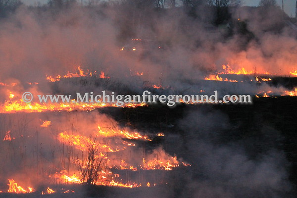 4/17/17 - Eaton Rapids Twp prescribed burn, 3251 Smithville Rd