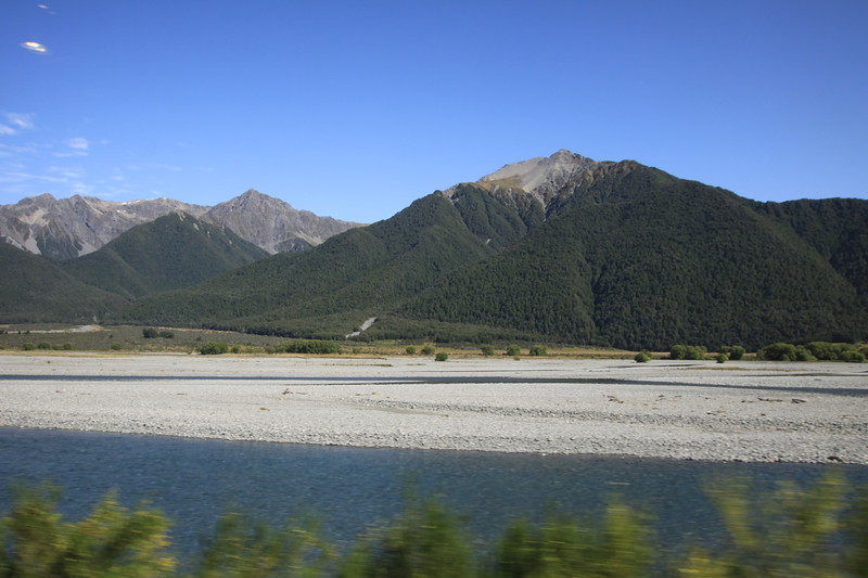 Through the Southern Alps