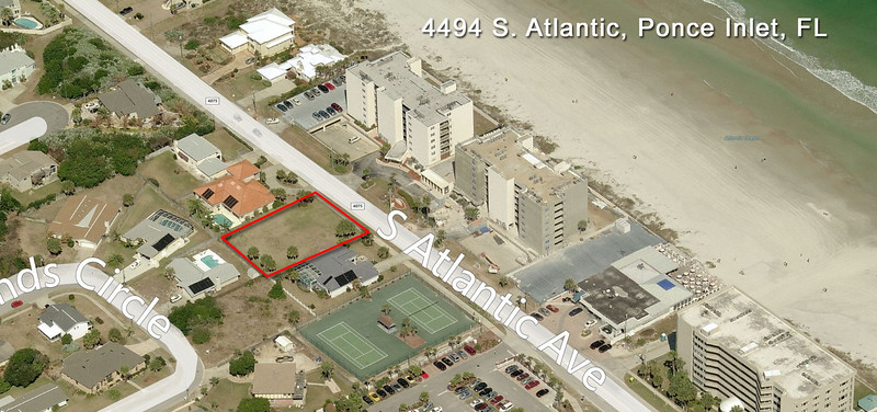 4494 S Atlantic Blvd. | Vacant Beach Lot in Ponce Inlet, FL