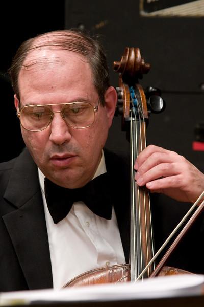 Jonathan Mayer, cello -- Hopkins Symphony Orchestra, March 2008