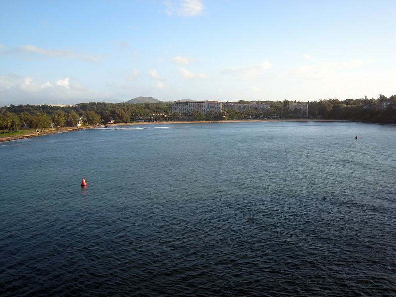 Arriving Nawiliwili, Kauai - Kauai Marriott Resort