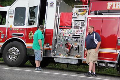 Apparatus, Fire Truck, Parade, Tuscarora Fire Company, Tuscarora (7-27-2013)