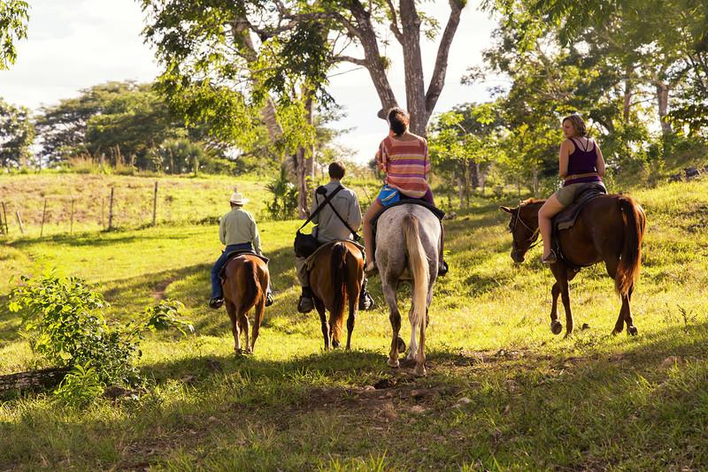 Horseback Riding at Hanna Stables in Belize