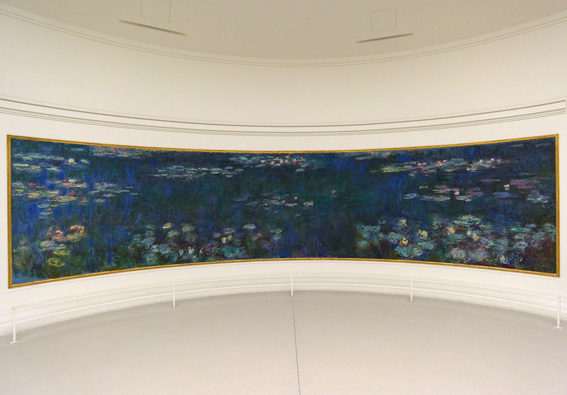 Claude Monet, The Water Lilies: Green Reflections, 1915-1926