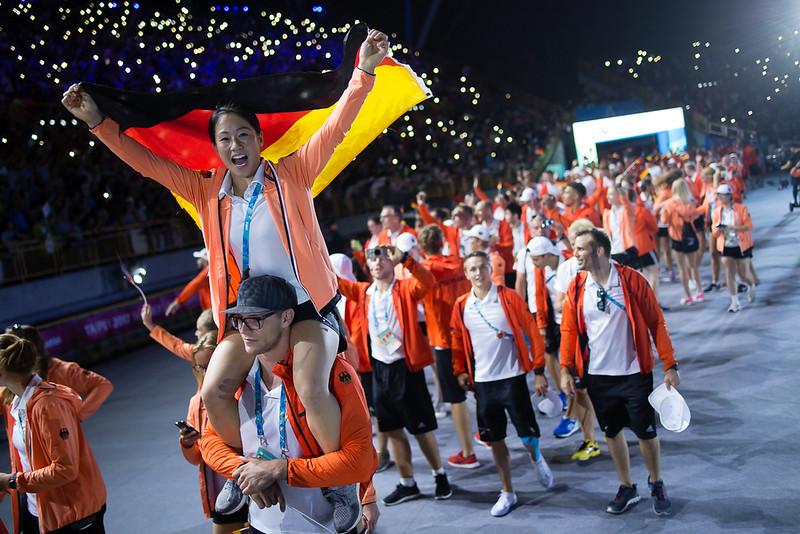 Universiade Einmarsch 2017 © Peter Leßmann
