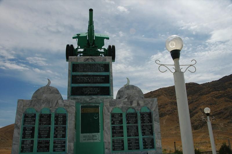 World War II Memorial - Paraw Bibi, Turkmenistan