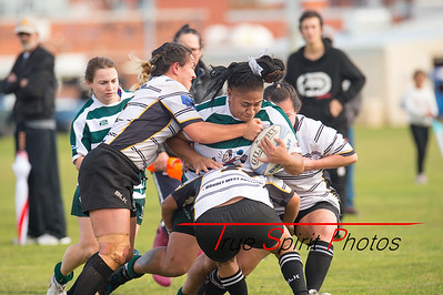 Senior Womens Rugby Wanneroo vs Perth Bayswater 23.07.2016