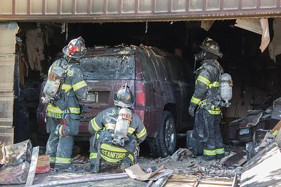 Cunningham Progress Place Garage Fire