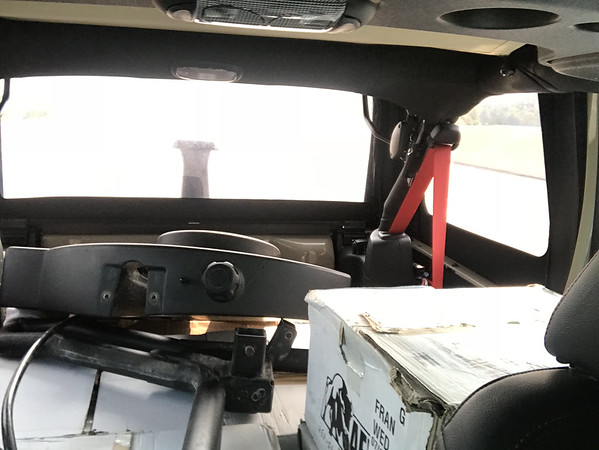 AEV Drop off and Install Lift & Tires