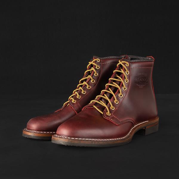 "Iron Heart Int'l x Wesco® - 7"" Black Tie Domain Toe Cap Boot-.jpg"