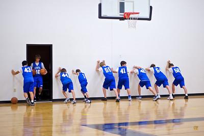 7th/8th Basketball Tournament vs. CFP-February 1, 2011
