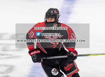 2/17/2021 -  Boys Varsity Hockey - Winchester vs Melrose